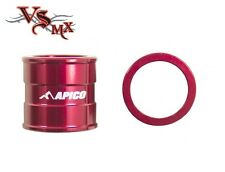 Apico Front Wheel Spacers Honda CR125 CR250 02-07 CRF250 04-17 CRF450 02-17 RED