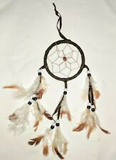 Bohemian Brown Soft Feathers New Wall Decor Dreamcatcher Dream Catcher