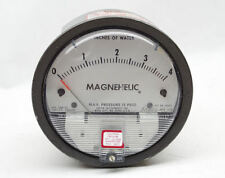 Magnehelic Gage 0-4 inches of water  clean and sharp gov surplus