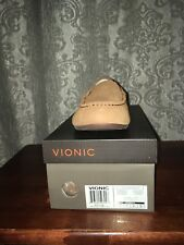 Vionic McKenzie Women Toffee Othorpedic Moccasins Loafers Slippers Uk 6 Eu 39