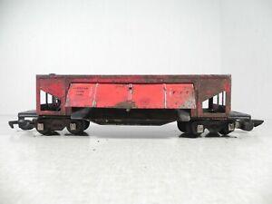 S GAUGE Vintage American Flyer Lines #716 Metal COAL DUMP CAR GIZMOCOLLECTABLES