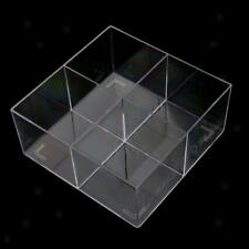 Clear Acrylic Makeup Organizer Case Cosmetic Brushes Lipstick Tools Holder