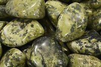 "Nephrite Jade Tumbled 2"" 2-4 Oz Rocks and Minerals Polished Specimens Reiki"