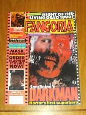 FANGORIA #96 MANIAC COP 2 DARKMAN ARACHNOPHOBIA WITH POSTER<