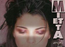 "MIETTA disco MIX 12"" 45 giri ANGELI NOI REMIX 4 versioni 1998"