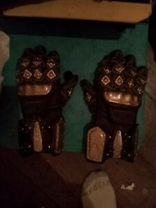 Icon REAL LEATHER motorcycle Gloves