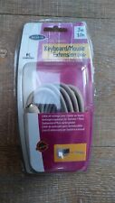 New Belkin Pro Series USB 1.8m 6ft UNIV Extension Cable For Keyboard or Mouse PC