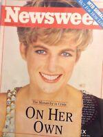 Newsweek Magazine Princess Diana December 21, 1992 111417nonrh