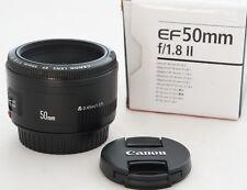 Canon EF 50mm F1.8 II Autofocus Lens for EOS SLRs +  Free UK Postage