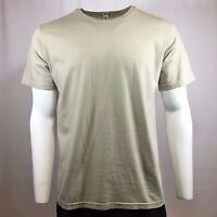 Men's T-Shirt LANDES DAILY Crew Neck Tee 100% Cotton Natural Made in USA