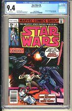 STAR WARS #6  CGC 9.4 WP NM  Marvel Comics 1977  Luke Skywalker vs Darth Vader