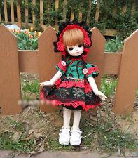 1/6 bjd yosd tiny doll outfits X'mas costume dollfie Luts AI DZ #LD6-14 ship US