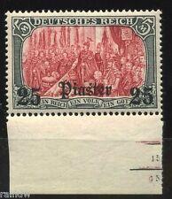 DP Türkei 25 Pia. 1905** UR + Formnummern Attest (S3525