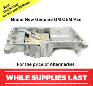 Oil Pan Brand New GM OEM  2.2L 2.4L 2005-2010 CHEVROLET COBALT 12601240