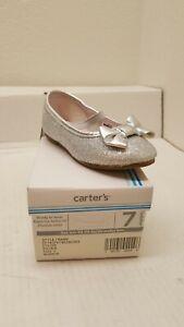 Carter's   Bigbow Ballet Flat Toddler Size 7
