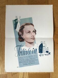 Fräulein (Kleinplakat '39) - Ilse Werner / Mady Rahl / UFA