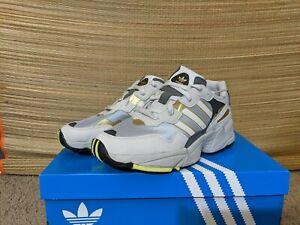 Adidas Originals Yung-96 Men's size 8 New Silver Metallic Gold Grey 1 Chasm