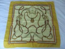 foulard en soie GIL de LOSNE PARIS (80 x 80 cm)