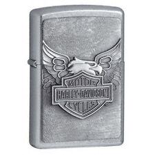 Zippo Harley Iron Eagle Street Chrome Lighter 20230 NEW