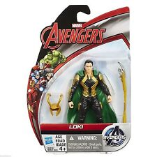 "LOKI ( 4"" ) RARE VHTF ( AVENGERS: AGE OF ULTRON ) 2015 ALL STAR ACTION FIGURE"