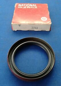 Front Wheel Seal National Oil Seals # 3743, Fits Ford Mercury Merkur