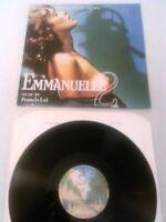 EMMANUELLE 2 O.S.T LP N. MINT!!! FRANCIS LAI / UK 1ST PRESS WARNER BROS CULT