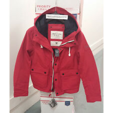 ABERCROMBIE & FITCH MENS OUTERWEAR HOODIES COAT JACKET RED SIZE M,L,XL A&F