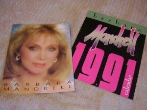 Barbara Mandrell *1991 Calendar With Stunning Images+1989 Concert Tour Book!