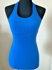 ***LULULEMON***  Top  Yoga Athletic Casual Blue Run Gym __size. 4