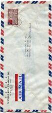 Taiwan airmail cover (legal size) Taipei to Vernier Geneva Switzerland