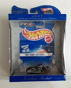 """Hot Wheels 30 Years Commemorative  1997  First Editions #9 """"Scorching Scooter"""""""