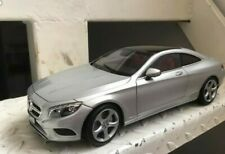MERCEDES CLASSE S Coupe (C 217) S-KLASS 2014 grigio silver 1:18 NOREV MIB