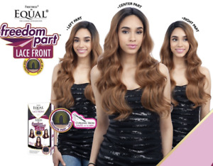 Freetress Equal Wig Freedom Part Lace Front Wig Long Wavy FREE PART LACE 202
