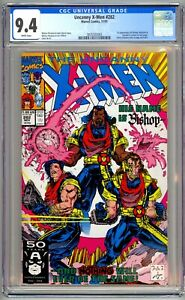 (1991) UNCANNY X-MEN #282 FIRST APPEARANCE OF BISHOP! CGC 9.4 WP