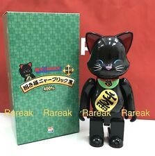 Medicom Be@rbrick 2017 NY@brick 400% Lucky Cat Black NYbrick Bearbrick 1pc