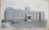 1925 Postcard: Pierson High School - Sag Harbor, Long Island, New York NY