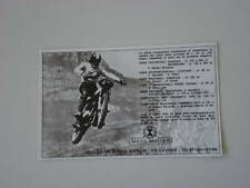 advertising Pubblicità 1972 MOTO MULLER