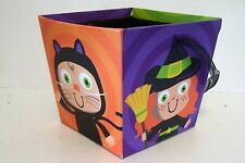Witch Dracula Mummy Halloween Candy Container Decoration Trick Treat Fall Autumn