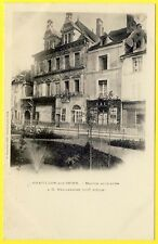 cpa 21 - CHÂTILLON sur SEINE (Côte d'Or) Maison PHILANDRIER Epicerie GIRARDOT