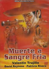 MUERTE A SANGRE FRIA (1978) VALENTIN TRUJILLO NEW DVD