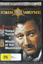 JOHN WAYNE - DOUBLE FEATURE - TEXAS TERROR + WINDS OF THE WASTELAND - DVD - NEW