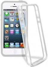 Apple iPhone 4 4S Bumper Stoss Schutz Hülle TPU Silikon Case Schale Weiss - 082