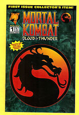 Mortal Kombat Blood & Thunder (1994) comic #1 NM
