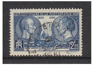 Frankreich - 1939, 2f25 Fotografische Centenary Briefmarke - G/U - Sg 640
