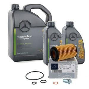ORIGINAL Mercedes-Benz Motoröl 5W30 MB 229.51 7 Liter + Ölfilter 6511800109