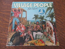 33 tours Village People - In the navy (Pochette abimé)