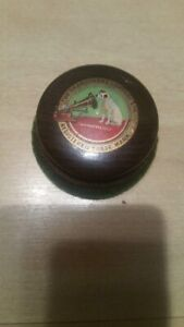 Vintage / Anique HMV His Masters Voice Record Cleaner Round Brush