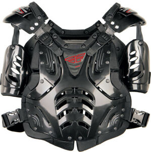 Fly Racing Convertible II Roost Guard Chest Protector Adult and Youth