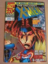 Uncanny X-Men #350 Variant Prismatic Foil Cover Trail of Gambit Origin 9.4 NM