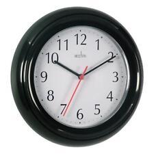 Wall Clock, Acctim Wycombe Wall Clock, Black